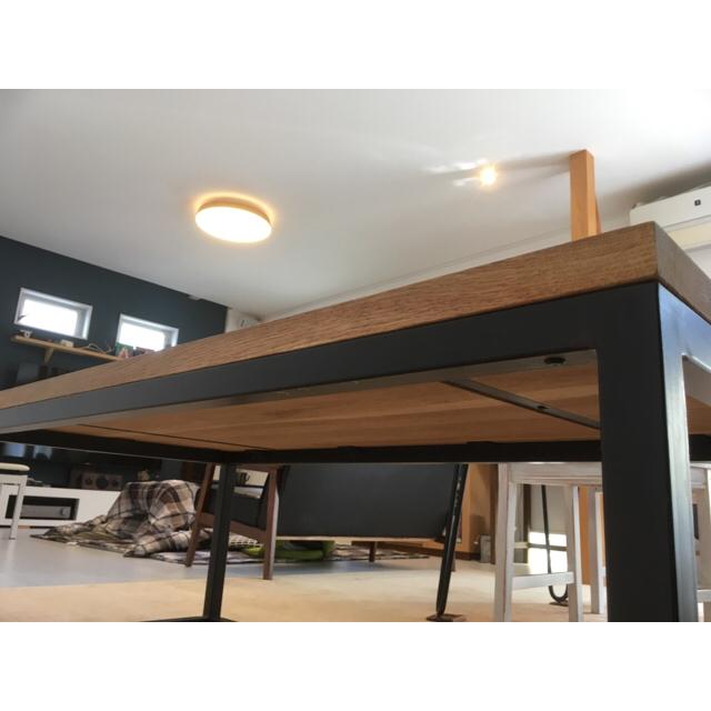 ACTUS(アクタス)のACTUS 無垢材 センターテーブル リビングテーブル インテリア/住まい/日用品の机/テーブル(ダイニングテーブル)の商品写真