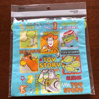 トイストーリー(トイ・ストーリー)の未使用、ディズニー、トイストーリー、巾着袋(キャラクターグッズ)
