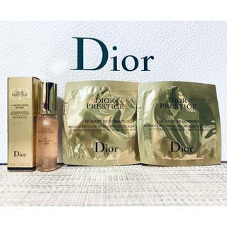 Dior - 【新品】Dior プレステージ ゴマージュ×2&ローションド ローズ 10ml