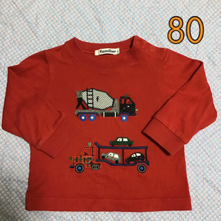 familiar - 長袖Tシャツ ファミリア 80