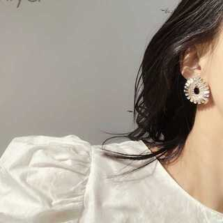 ZARA - #739 import pierce : BIJOUS gold