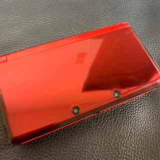 ニンテンドウ(任天堂)の3DS レッド 赤(携帯用ゲーム機本体)