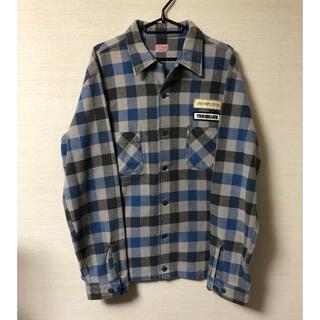テンダーロイン(TENDERLOIN)のLサイズ テンダーロイン T-FLANNEL SHIRT チェック ネルシャツ(シャツ)