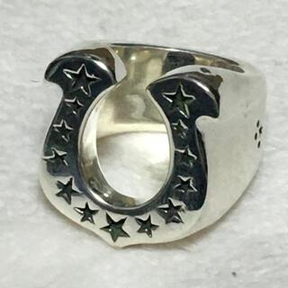 テンダーロイン(TENDERLOIN)の美品 テンダーロイン T-H.S.RING ホースシュー リング シルバー(リング(指輪))