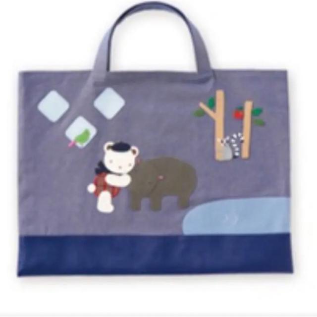 familiar(ファミリア)のニフレル ファミリア バッグ キッズ/ベビー/マタニティのこども用バッグ(レッスンバッグ)の商品写真