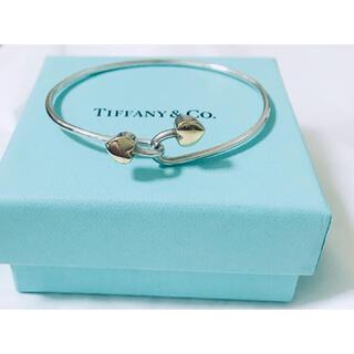 Tiffany & Co. - TIFFANY&CO. ティファニー ダブルハート バングル