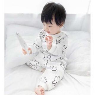 ♡80♡新品 パジャマ 男女OK!部屋着 長袖 パンツ セットアップ 可愛い (パジャマ)