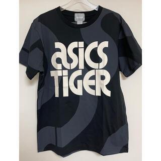 asics - 【新品未使用】asicsTIGER デザインTシャツ(ブラック/海外L)