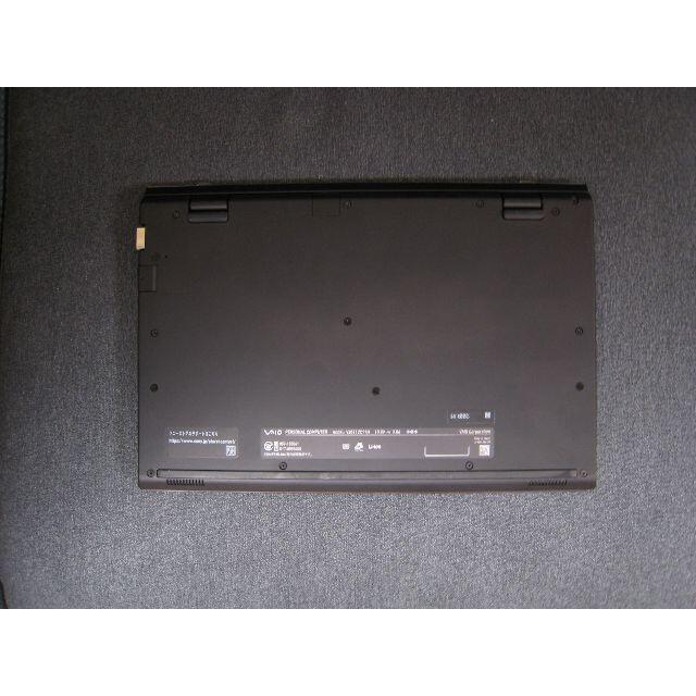 VAIO(バイオ)のVAIO S11 ブラウン 重量840g(2019年7月購入) スマホ/家電/カメラのPC/タブレット(ノートPC)の商品写真