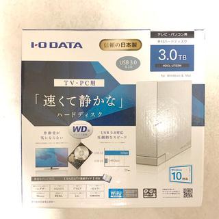 IODATA - 外付けHDD 大容量 3TB IODATA HDCL-UTE3W