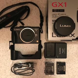 Panasonic - Panasonic LUMIX DMC-GX1 ボディ+パンケーキレンズ