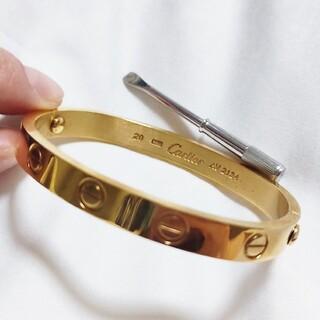 Cartier - カルティエ ラブブレスレット イエローゴールド YG