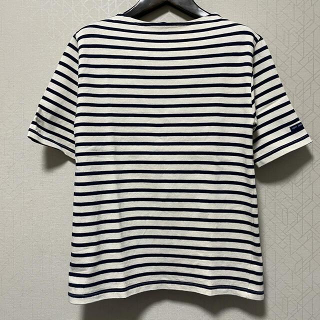 SAINT JAMES(セントジェームス)の【美品】SAINT JAMES OUESSANT バスクボーダーTシャツ メンズのトップス(Tシャツ/カットソー(半袖/袖なし))の商品写真