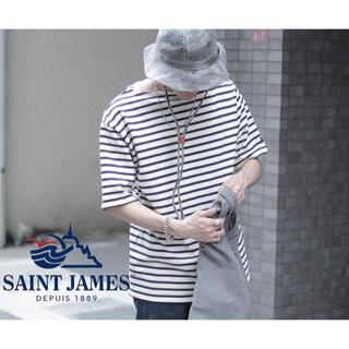 SAINT JAMES - 【美品】SAINT JAMES OUESSANT バスクボーダーTシャツ