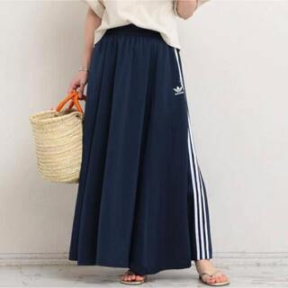 アディダス(adidas)の新品 アディダス ビューティ&ユースユナイテッドアローズ コラボ ロングスカート(ロングスカート)