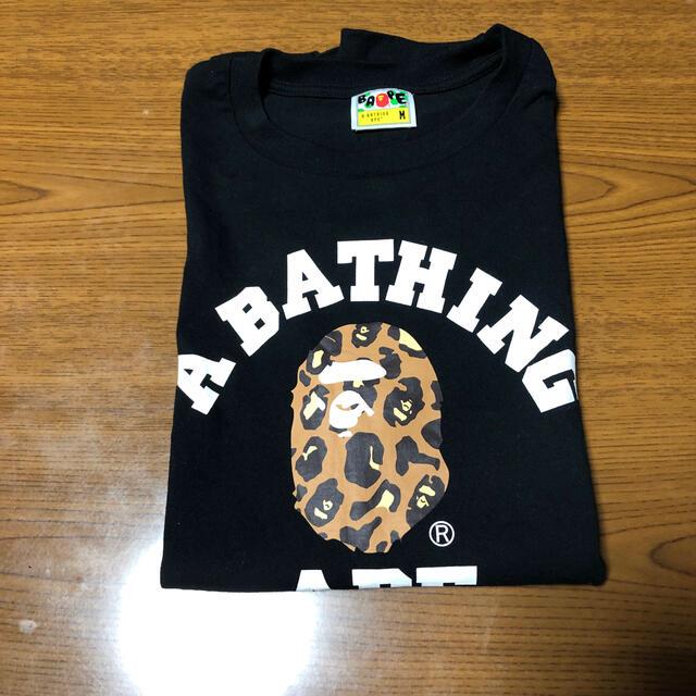A BATHING APE(アベイシングエイプ)のA BATHING APE Tシャツ 半袖 メンズのトップス(Tシャツ/カットソー(半袖/袖なし))の商品写真
