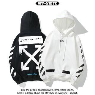 OFF-WHITE - 2枚12000円OFF-WHITE パーカー 7男女兼用 XOF016