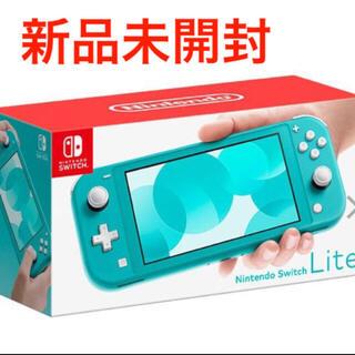 Nintendo Switch - 新品未使用 Nintendo Switch Lite 本体 ターコイズ