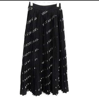 Balenciaga - バレンタインSALE💖定価23万円バレンシアガプリーツロゴスカート