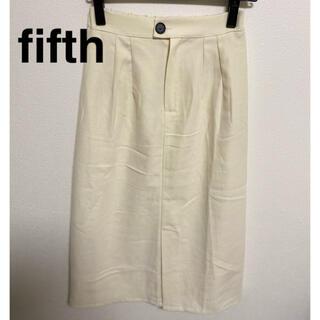 fifth - fifth フロントスリットタイトスカート