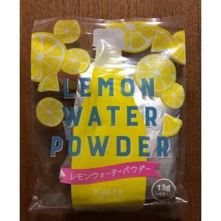 カルディ(KALDI)のカルディ レモンウォーターパウダー 4袋(その他)
