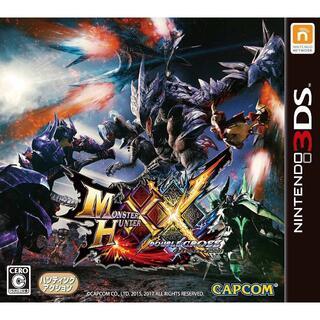 ニンテンドウ(任天堂)のモンスターハンターダブルクロス - 3DS(携帯用ゲームソフト)