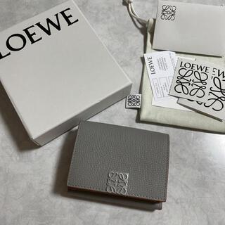 LOEWE - ロエベ 財布 アナグラム 6cc スモーク
