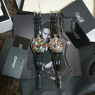 ガガミラノ(GaGa MILANO)の【正規美品】ガガミラノマニュアーレ4点セット 手巻き時計(腕時計(アナログ))