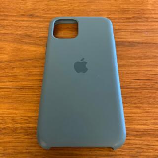 アップル(Apple)の純正 Apple iPhone 11 pro シリコンケース (iPhoneケース)