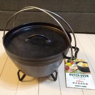 ユニフレーム(UNIFLAME)のユニフレーム ダッチオーブン スーパーディープ 10インチ(調理器具)