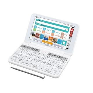 シャープ(SHARP)のシャープ 電子辞書  PW-SS7-W(電子ブックリーダー)
