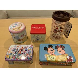 ディズニー(Disney)のディズニー お菓子 空箱 まとめ売り(小物入れ)
