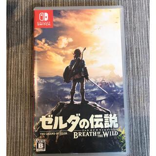 ニンテンドウ(任天堂)のゼルダの伝説 ブレス オブ ザ ワイルド Switch(家庭用ゲームソフト)