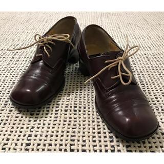 ヒミコ(卑弥呼)の【卑弥呼】レースアップシューズ 本革 23センチ(ローファー/革靴)