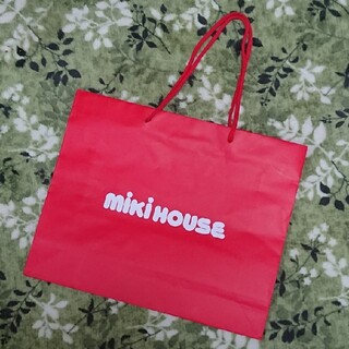 ミキハウス(mikihouse)のミキハウス 紙袋 ショッパー 5枚(ショップ袋)