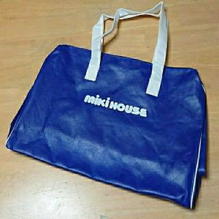 ミキハウス(mikihouse)のミキハウス 布袋(チャック付き)紙袋 ショッパー (ショップ袋)