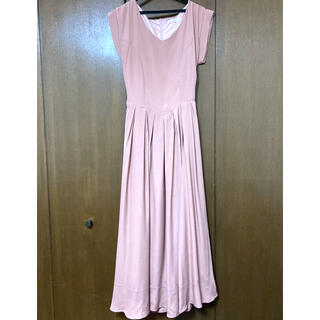dazzlin - ダズリン くすみピンク ロングワンピース ドレス