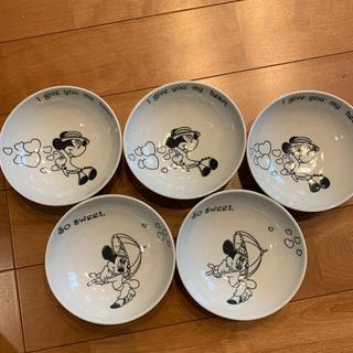 ディズニー(Disney)のミッキー&ミニー  ボウル5枚セット(食器)