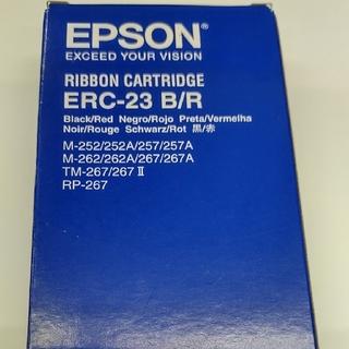 エプソン(EPSON)のエプソン ERC-23 B/R リボンカセット(PC周辺機器)
