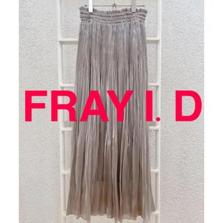 FRAY I.D - 【新品】FRAY.I.D♡サテン プリーツスカート