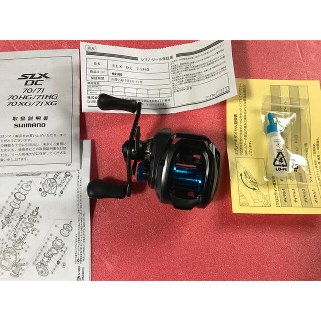 SHIMANO(シマノ)の 20 SLX DC 71HG LEFT SHIMANO スポーツ/アウトドアのフィッシング(リール)の商品写真