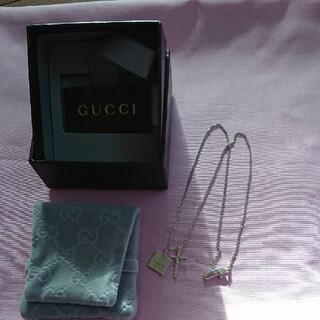 Gucci - グッチシルバーネックレス