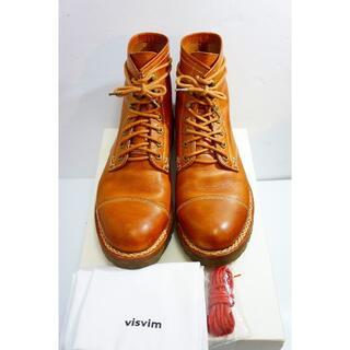ヴィスヴィム(VISVIM)のVISVIMビズビム レザー レースアップ ブーツ 茶115L▲(ブーツ)