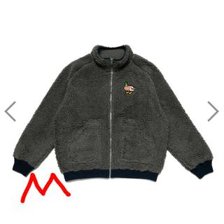 ジーディーシー(GDC)のHuman Made Fleece Jacket Duck グレー M(ブルゾン)