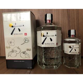 サントリー(サントリー)のサントリークラフトジン 六(ROKU) 箱入 700ml(蒸留酒/スピリッツ)