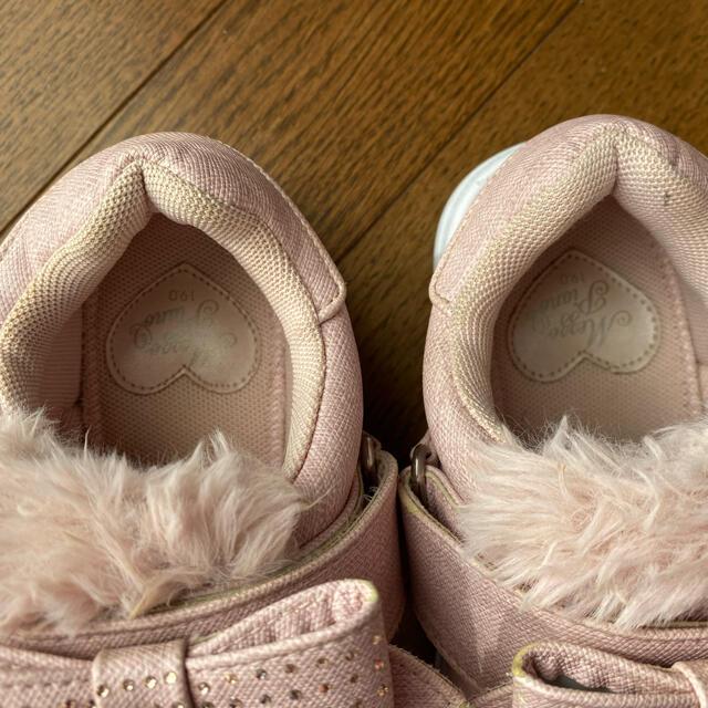 mezzo piano(メゾピアノ)のメゾピアノ スリッポン 靴 ブーツ 19cm  120 130 キッズ/ベビー/マタニティのキッズ靴/シューズ(15cm~)(スリッポン)の商品写真