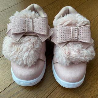 mezzo piano - メゾピアノ スリッポン 靴 ブーツ 19cm  120 130
