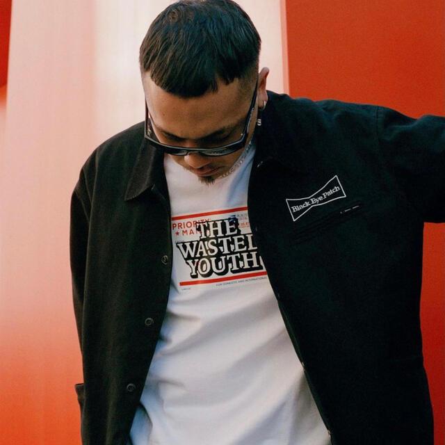 BLACK EYE PATCH×WASTED YOUTH ワークジャケット【L】 メンズのジャケット/アウター(ブルゾン)の商品写真