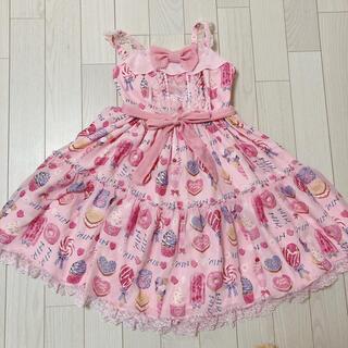 Angelic Pretty - Angelic Pretty Sugar Candy Shop jsk ピンク
