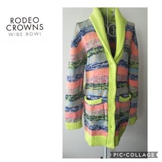 ロデオクラウンズ(RODEO CROWNS)の【ロデオクラウンズ】ニットコート(その他)